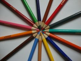 Pencil circle 2 by Laura-in-china