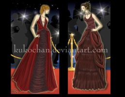 Red Carpet Designs 2 by kukochan