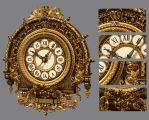 Musee D'Orsay Clock - Color render by Z-In-Your-Hair
