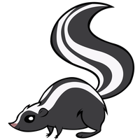 Skunk by BonesWolbach