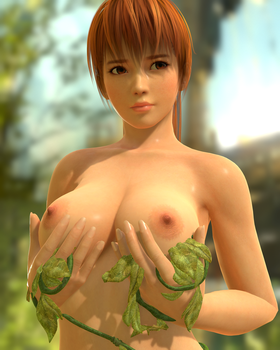 Kasumi Forest Topless (Toolbag) by RadiantEld