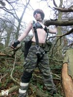 Female Naked Snake 7 by gaming-goddess