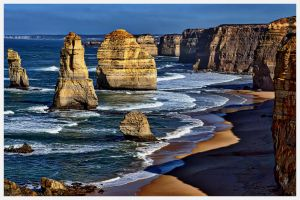The twelve Apostles 2 by catchaca1