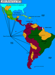 Worldwar 1975 South-America by MTT3008