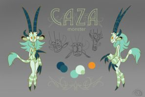 Caza sheet by cazamonster