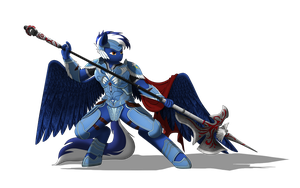 Blaze blue - heaven defender by Denezer