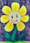 Idea #3: Flowey the Flower by Sonic2You