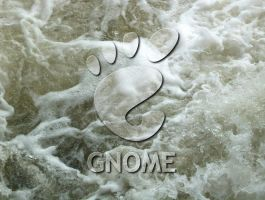 GNOME White Water by biggyp