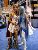 Frosta and She-Ra by mollydove
