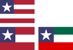 Variant flags of the United States and NAU by hosmich