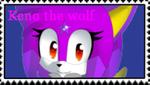 First Stamp for ~KenotheWolf by FumikoFreeStamps