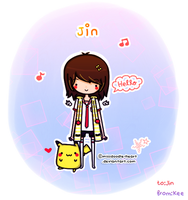 Art Trades with Jin by missdoodle-heart