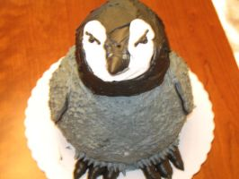 Penguin Sculpture Cake 1 by TheShiftyAdvisor