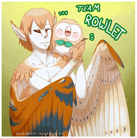 Tal is Team Rowlet! by shorty-antics-27
