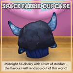 Space Faerie Cupcake by Karisean