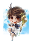 UPDATED: Chibi Icarus by miesmud