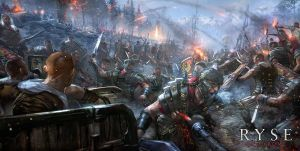 Ryse - Winter Battle by Fealasy
