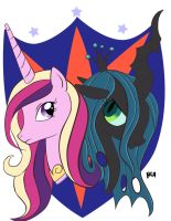 Two Sides One Shining Armor by gigithestar07