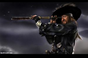 Barbossa s Night  by KomyFlyinc@ by KomyFly