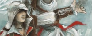 fight togeter - Ezio by jying072