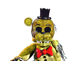 Even More Withered Golden Freddy by PrimeYT