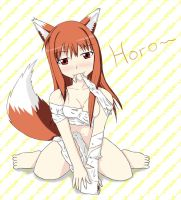 Horo X3 by unknownlifeform