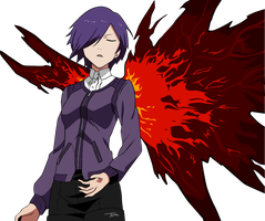 Touka Tokyo Ghoul by truss31
