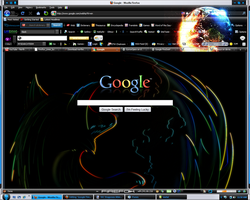 Google Firefox Outline Theme by GyroxOpex