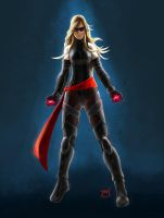 Ms. Marvel Movie Concept by ElJore