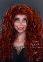 Merida of DunBroch by Rheza Maulana by rhezM