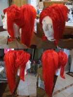 Yoko Wig Commission Progress by xHee-Heex