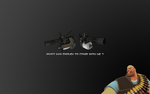 Heavy weapons guy wallpaper by patapouf