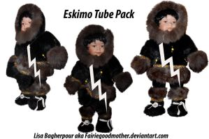 Eskimo Doll Pack by FairieGoodMother