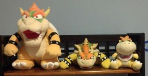 All my Bowsers by Bowser14456