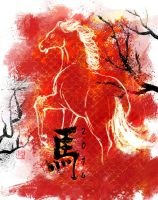 Year of the Horse by Manatiini