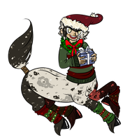 mama never told me santa was a centaur by meteorcrash