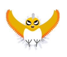 John the shiny Ho-Oh commison for Spoonerdog123 by Pfaccioxx