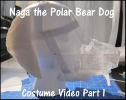 Naga the Polar Bear Dog Costume Part 1 by PokemonMasta