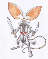 A Mouse Templar by SpiderGuile