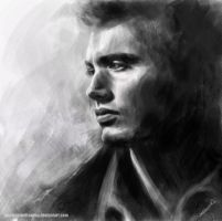 Jensen Ackles by PassionForDrawing
