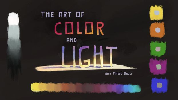 My Class For CGMA: 'The Art Of Color And Light' by MarcoBucci