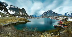 Reine Panorama by cwaddell