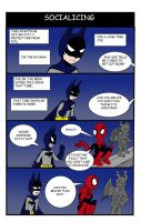 BATMAN - SOCIALIZING by Leon-Z