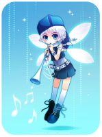 Snow Fairy by ocarina-CD