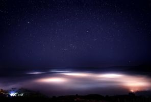 Sea of Mist by palmbook