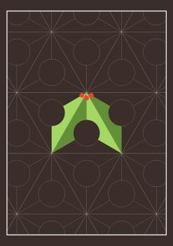 Holly Christmas Card by subtle-design