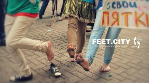 Walking Barefoot in the City Festival #3 by bocukom