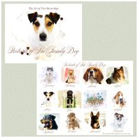 Portraits of The Family Dog Calendar by ToriB