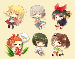 Ghibli Cheebs by h-yde