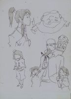 korra sketch studies by pain16